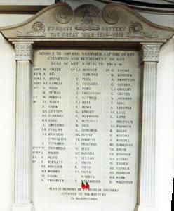 memorial hall plaque